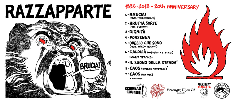 Brucia! CD cover art